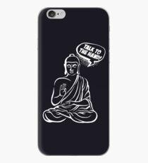 Talk to the hand!   Buddha Comics iPhone Case