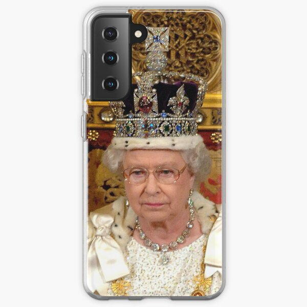 Majestic! HM Queen Elizabeth II attends the State Opening of Parliament - Pro Photo Samsung Galaxy Soft Case