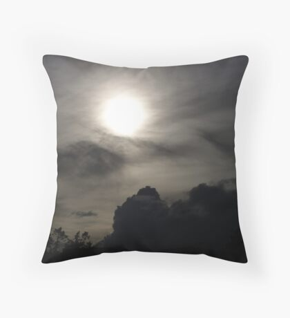 The Sun and the Storm Throw Pillow