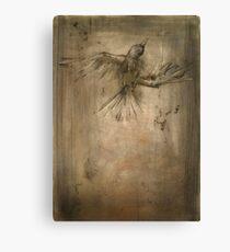 glass breaks bone Canvas Print