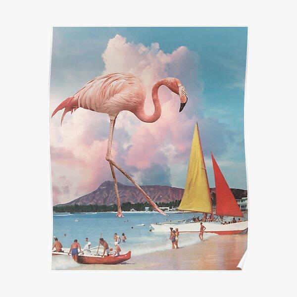 Flamingo Playground Poster
