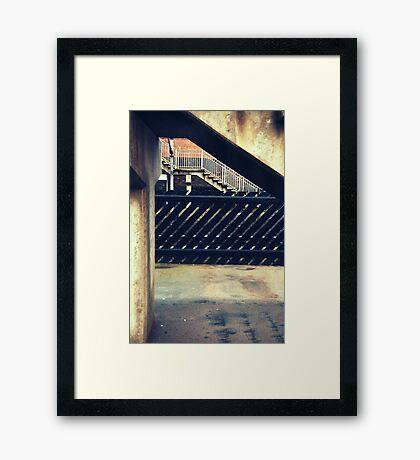 Thirsk Train Station Framed Print