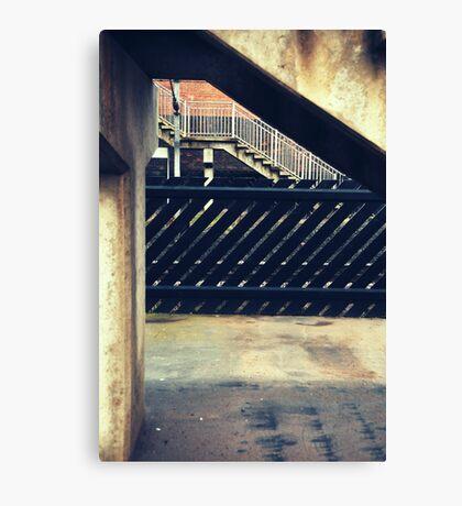 Thirsk Train Station Canvas Print