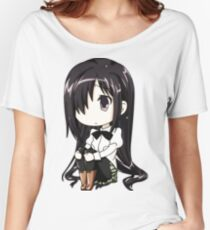 Anime, sitting Women's Relaxed Fit T-Shirt
