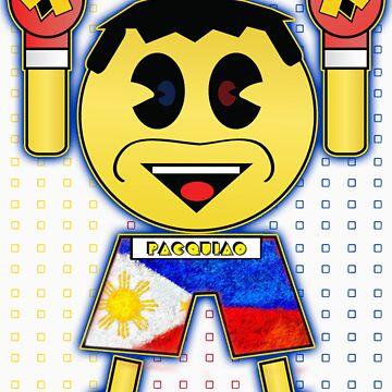 "DAV Brandz Manny ""Pacman"" Pacquiao Tee by DAVbrandz"