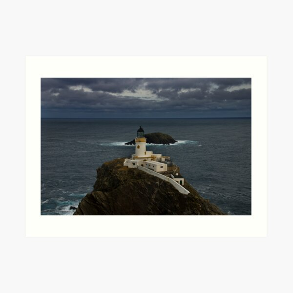 Muckle Flugga and Out Stack Art Print
