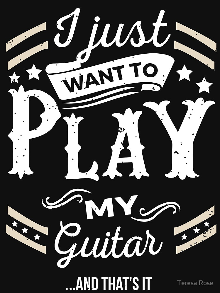 I Just want to Play My Guitar & That's It by MusicReadingSav