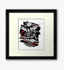 Back to the ghostbusters Framed Print