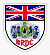 BRITISH RACING DRIVERS CLUB (BRDC) Sticker