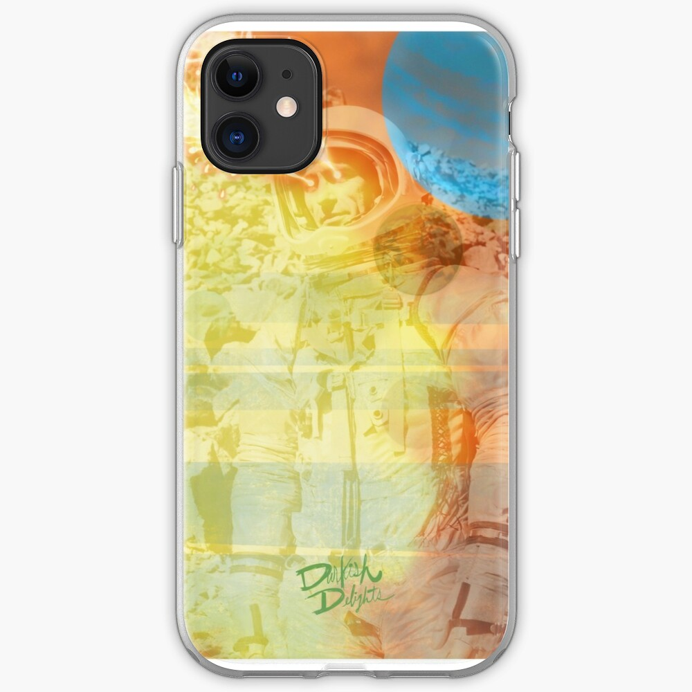 Space Cadet Fred iPhone Soft Case