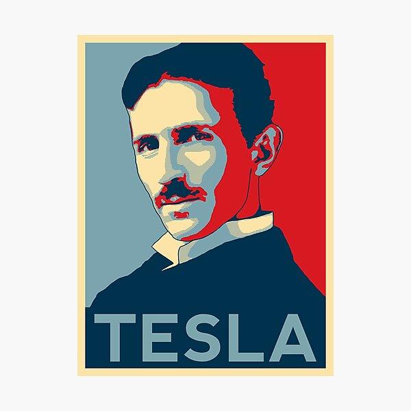 Nikola Tesla Photographic Print
