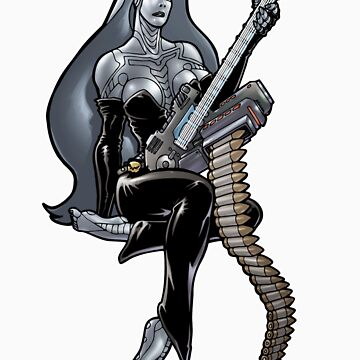 Missile Guitar 003 by IanSokoliwski
