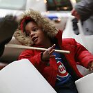 Little Drummer Boy in the Streets of Chicago by Stephanie  Wiese