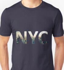 Camiseta unisex New York City: City of Dreams