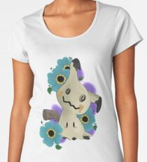 Pokemon ~ Mimikyu Premium Rundhals-Shirt