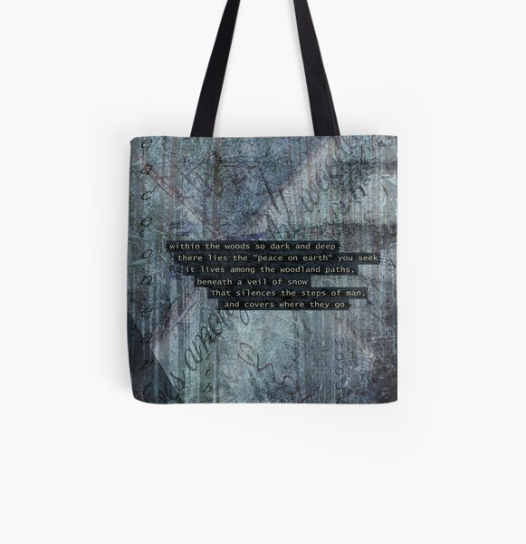 Within The Woods All Over Print Tote Bag