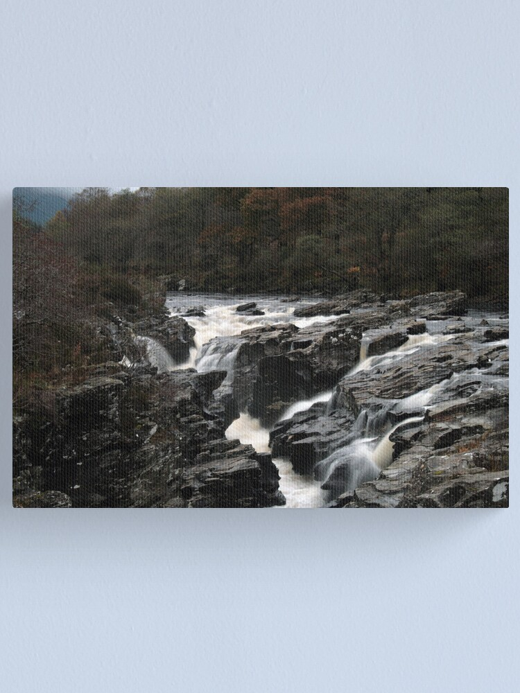 Alternate view of Falls  of  Orchy Canvas Print