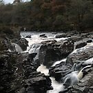 Falls  of  Orchy by Alexander Mcrobbie-Munro