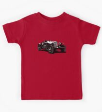 Vector vintage car Kids Tee