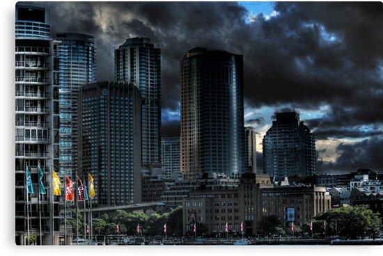 Sydney Skyline HDRi by Tony Lin