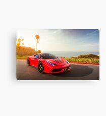 Ferrari 458 Speciale Canvas Print