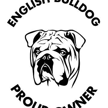 English Bulldog Proud Owner MC Club by fuseleven