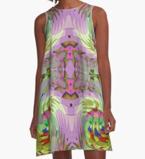 Wired A-Line Dress