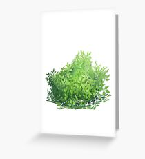 fortnite bush Greeting Card