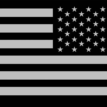 Special Forces, AMERICAN, ARMY, Soldier, American Military, Arm Flag, US Military,  USA, Flag, Reverse side flag, on BLACK by TOMSREDBUBBLE