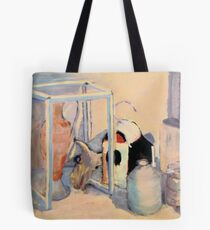 Sunlight, Shadows and Skull Tote Bag