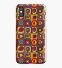 Wassily Kandinsky, Colour Study: Squares with Concentric Circles  iPhone Case/Skin