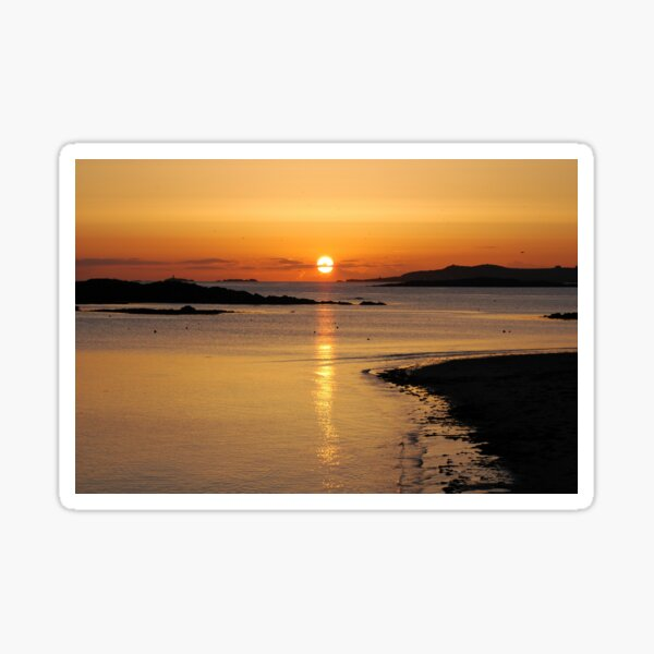 Anglesey Spring Sunset Sticker