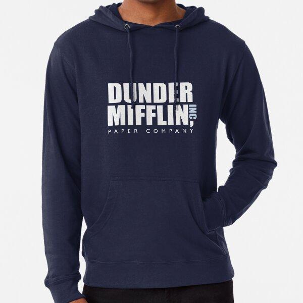 Fo Women Fall Lightweight Pullover Sweatshirt Sweater Long Sleeve COOLGOOD Dunder-Mifflin-Logo