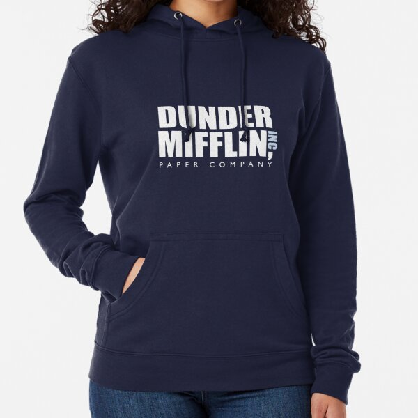 The Office - Dunder Mifflin Logo Artwork (HD) Lightweight Hoodie
