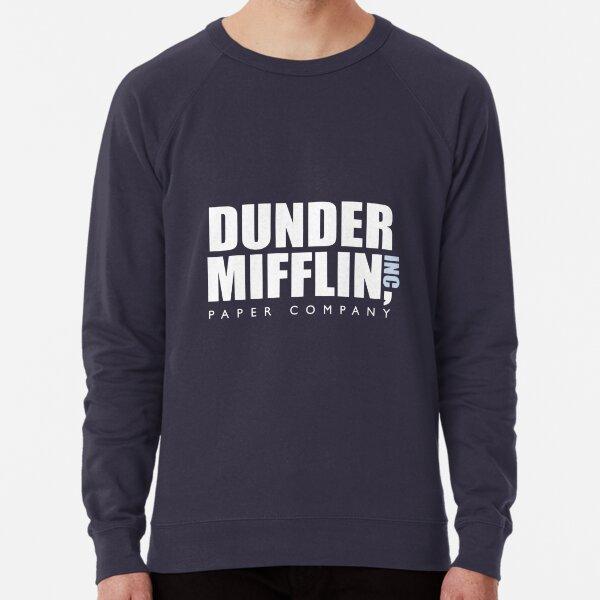 The Office - Dunder Mifflin Logo Artwork (HD) Lightweight Sweatshirt