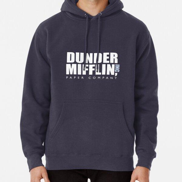 The Office - Dunder Mifflin Logo Artwork (HD) Pullover Hoodie