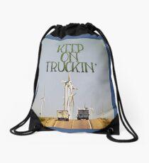 Keep on Truckin' Drawstring Bag