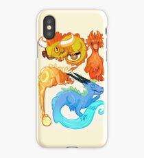 Cute Dragon Species iPhone Case/Skin