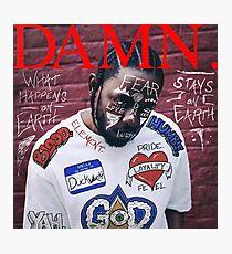 Kendrick Lamar - VERDAMMT. Alternative Album Art Fotodruck