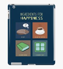 Ingredients For Happiness iPad Case/Skin