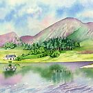 Highland But n' Ben (watercolour on paper) by Lynne Henderson