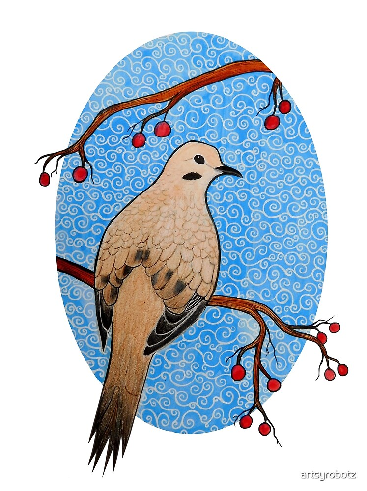 Good Mourning, Dove by artsyrobotz
