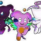 SEGA Sonic the Hedgehog Fly Chao Hero Dark Neutral Sonic Adventure 2 Battle by Zphal