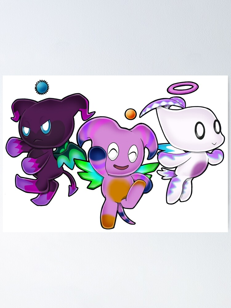Sega Sonic The Hedgehog Fly Chao Hero Dark Neutral Sonic Adventure 2 Battle Poster By Zphal Redbubble