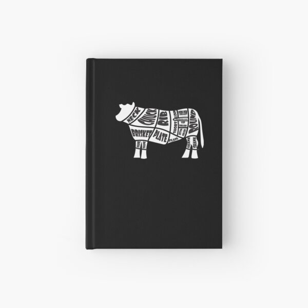 Beef Cuts Hardcover Journal