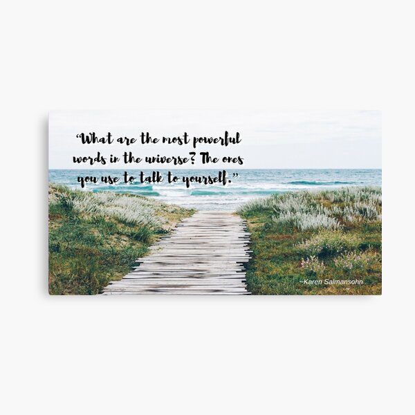 The Most Powerful Words in the Universe Canvas Print