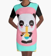 Noodles the panda Graphic T-Shirt Dress