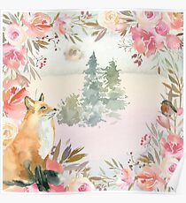 Fox in the Fairytale Poster