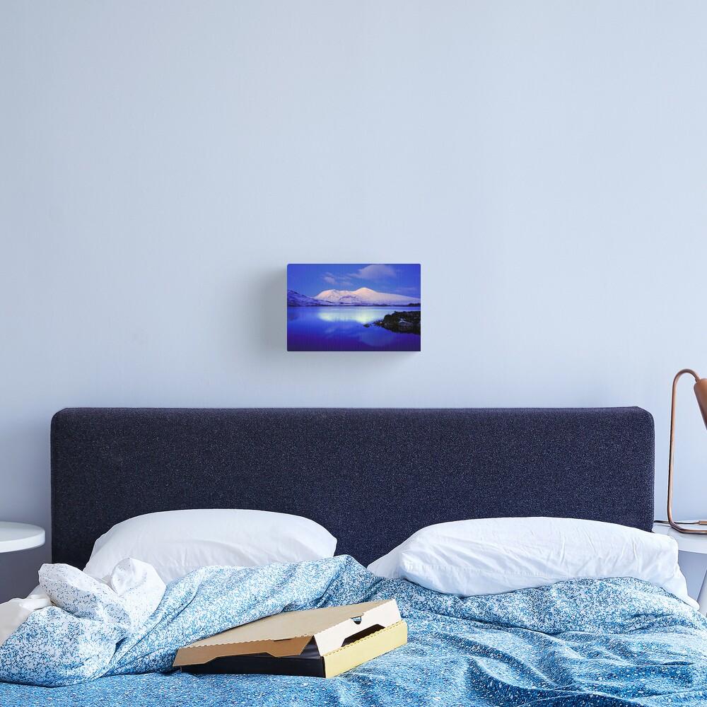 Blackmount Snow Canvas Print