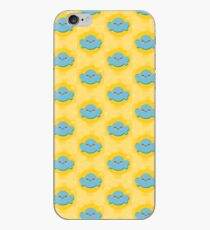 Blue cloud iPhone Case